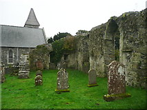 NX4355 : The ruined Old Church, Wigtown by Humphrey Bolton
