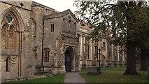 TF6120 : South side of St Nicholas' Chapel, King's Lynn by Chris Brown