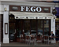 SU9566 : Fego Cafe in Chobham Road by Robert Eva