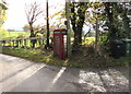 SO3727 : Red phonebox, Rowlestone by Jaggery