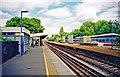 TQ2168 : New Malden station, Up side 2001 by Ben Brooksbank