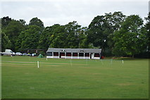 SU8486 : Cricket Pavilion by N Chadwick