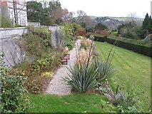 SX8752 : Garden where Princess Elizabeth met Prince Philip, Britannia Royal Naval College by David Hawgood