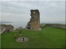 TA0489 : Scarborough Castle by Chris Allen