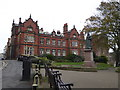 TA0488 : Town Hall and Queen Victoria - Scarborough by Chris Allen