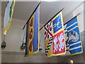 SX8752 : Banners of dead admirals, Britannia Royal Naval College by David Hawgood