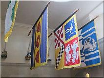 SX8752 : Banners of dead admirals, Britannia Royal Naval College by David Hawgood