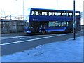 ST3188 : X7 double-decker bus enters Market Square bus station, Newport by Jaggery