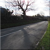 SS9086 : Bettws Road south from Bettws by Jaggery