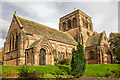 SJ3080 : St George's United Reformed Church, Thornton Hough by Jeff Buck