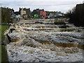R1388 : Falls on Inagh River, Ennistymon by Alan Bowring