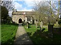 SK3474 : St Lawrence's Church, Barlow by Dave Dunford