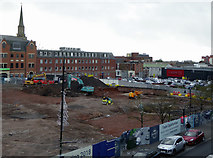 SO9198 : Site for the new retail market in Wolverhampton by Roger  Kidd