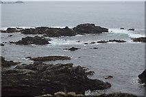 SX4948 : Rocks, Heybrook Bay by N Chadwick
