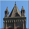 SJ3049 : St Mary's Bersham - tower by Stephen Craven