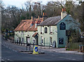 """TQ3298 : """"Rose and Crown"""" public house, Clay Hill by Jim Osley"""