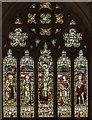 TA1011 : East window, St Helen's church, Kirmington by Julian P Guffogg