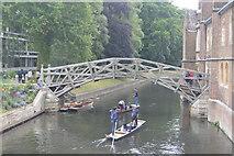 TL4458 : The Mathematical Bridge by N Chadwick