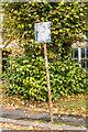 TQ2550 : Parking sign by Ian Capper