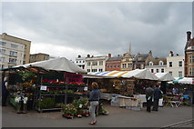 TL4458 : Cambridge Market by N Chadwick