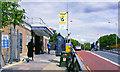 TQ1384 : Northolt station entrance, 2007 by Ben Brooksbank
