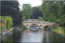 TL4458 : Clare Bridge by N Chadwick