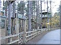 TL7980 : Parc Aerial Adventure by Gordon Griffiths