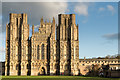 ST5545 : Wells Cathedral - West Front : Week 48 winner