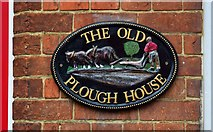 SP7006 : The former Plough (2) - sign, Priestend, Thame, Oxon by P L Chadwick