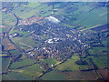 SU2995 : Faringdon from the air by M J Richardson