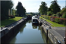 SP4710 : King's Lock by N Chadwick