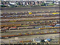 SU4520 : Marshalling yard at Eastleigh by M J Richardson