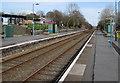 SS5599 : Bynea railway station, Carmarthenshire by Jaggery