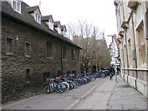 TL4458 : Bike park by Gordon Griffiths