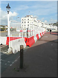TR3140 : Roadworks, Esplanade by John Baker