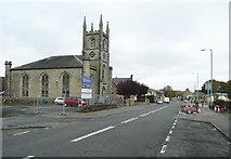 NS6113 : Church on the A76, New Cumnock by Humphrey Bolton