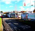 SO3808 : Camping & Kite Centre in Raglan Garden Centre by Jaggery