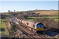 NY0938 : Trains at Bullgill, Cumbria - November 2017 (4) : Week 48