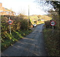 SO3830 : Start of the 40 zone, Cwm Road, Abbey Dore by Jaggery