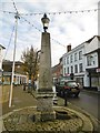 TL0338 : Ampthill, obelisk by Mike Faherty