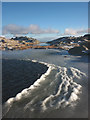 NY2403 : Ice ripples, Little Stand by Karl and Ali