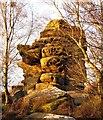 SE2064 : Sunlit rocks, Brimham : Week 48