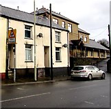 SS9497 : Warning sign Patrol/Hebryngwr, Baglan Street, Treherbert by Jaggery