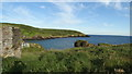 X1676 : View over Goat Island towards Ardoginna Head, Co Waterford by Colin Park
