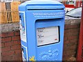 SO9193 : Christmas Post Box by Gordon Griffiths