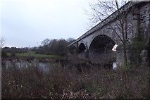 SE4843 : Viaduct and Wharfe by DS Pugh