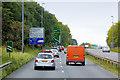 SJ3066 : A494 near Ewloe by David Dixon