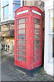 NZ0516 : Listed phone box by Bob Harvey