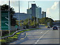 O0838 : Exit from N3 at Junction 2 (Blanchardstown) by David Dixon