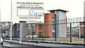 J3373 : Custom House apartments sign, Belfast (December 2017) by Albert Bridge